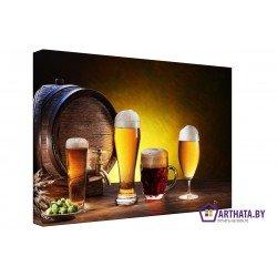 Фото на холсте Печать картин Репродукции и портреты - Мечта пивовара