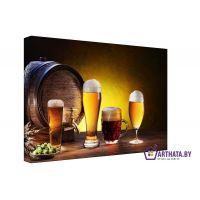 Портреты картины репродукции на заказ - Мечта пивовара