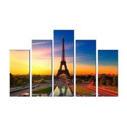 Фото на холсте Печать картин Репродукции и портреты - Эйфелева башня