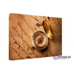 Морской компас - Модульная картины, Репродукции, Декоративные панно, Декор стен