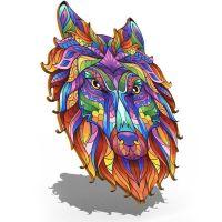 Портреты картины репродукции на заказ - 3D Пазл Сказочный волк