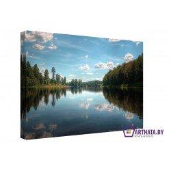 Фото на холсте Печать картин Репродукции и портреты - Голубые озера