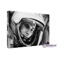 Картина на холсте по фото Модульные картины Печать портретов на холсте Юрий Гагарин