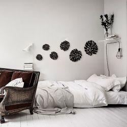 """Панно """"Листья Монстеры"""" - Модульная картины, Репродукции, Декоративные панно, Декор стен"""
