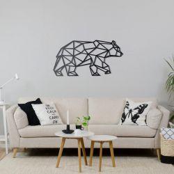 """Панно """"Белый медведь"""" - Модульная картины, Репродукции, Декоративные панно, Декор стен"""