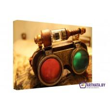 Картина на холсте по фото Модульные картины Печать портретов на холсте Стерео-очки