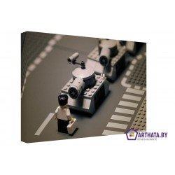 Лего-парад - Модульная картины, Репродукции, Декоративные панно, Декор стен