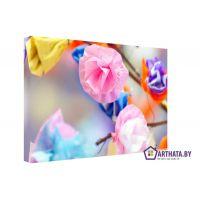 Портреты картины репродукции на заказ - Цветы радуги