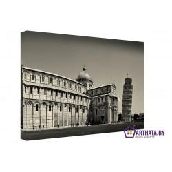 Пизанская башня  - Модульная картины, Репродукции, Декоративные панно, Декор стен