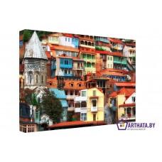 Картина на холсте по фото Модульные картины Печать портретов на холсте Майолика