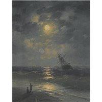 Море в лунном свете