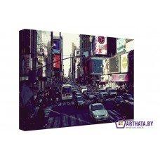 Картина на холсте по фото Модульные картины Печать портретов на холсте Городская жизнь