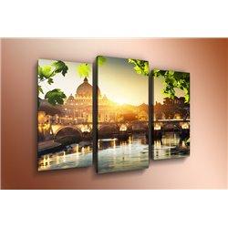 Модульная картина на стекле - m-000005 - Модульная картины, Репродукции, Декоративные панно, Декор стен