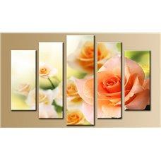 Картина на холсте по фото Модульные картины Печать портретов на холсте Модульная картина на стекле - 5m-004