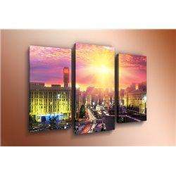 Модульная картина на стекле - m-000111 - Модульная картины, Репродукции, Декоративные панно, Декор стен