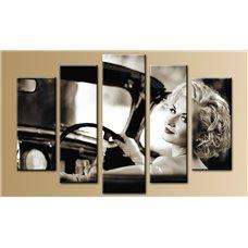 Картина на холсте по фото Модульные картины Печать портретов на холсте Модульная картина на стекле - 5m-007