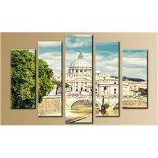 Картина на холсте по фото Модульные картины Печать портретов на холсте Модульная картина на стекле - 5m-008