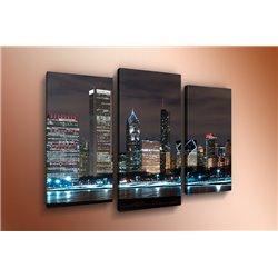 Модульная картина на стекле - m-000114 - Модульная картины, Репродукции, Декоративные панно, Декор стен