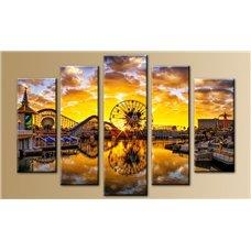 Картина на холсте по фото Модульные картины Печать портретов на холсте Модульная картина на стекле - 5m-011