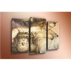 Модульная картина на стекле - m-000121 - Модульная картины, Репродукции, Декоративные панно, Декор стен