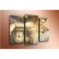 Портреты картины репродукции на заказ - Модульная картина на стекле - m-000121