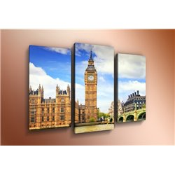 Модульная картина на стекле - m-000127 - Модульная картины, Репродукции, Декоративные панно, Декор стен