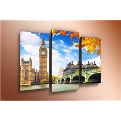 Модульная картина на стекле - m-000128 - Модульная картины, Репродукции, Декоративные панно, Декор стен