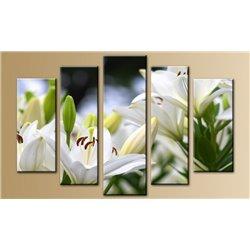 Модульная картина на стекле - 5m-026 - Модульная картины, Репродукции, Декоративные панно, Декор стен