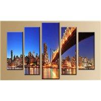 Модульная картина на стекле - 5m-028