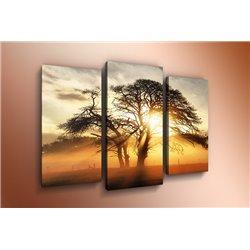 Модульная картина на стекле - m-000139 - Модульная картины, Репродукции, Декоративные панно, Декор стен