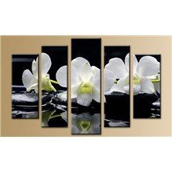 Модульная картина на стекле - 5m-036 - Модульная картины, Репродукции, Декоративные панно, Декор стен