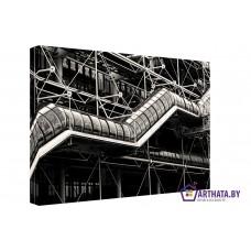 Картина на холсте по фото Модульные картины Печать портретов на холсте Индустриальный переход