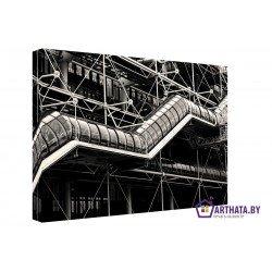 Индустриальный переход - Модульная картины, Репродукции, Декоративные панно, Декор стен