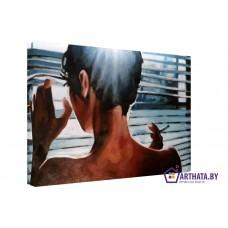 Картина на холсте по фото Модульные картины Печать портретов на холсте Где же Он