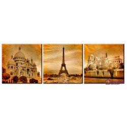 Фото на холсте Печать картин Репродукции и портреты - Зданий Парижа