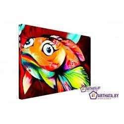 Фото на холсте Печать картин Репродукции и портреты - Золотая рыбка