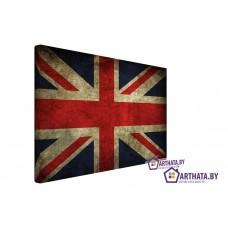 Картина на холсте по фото Модульные картины Печать портретов на холсте Британский флаг