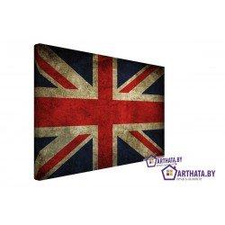 Фото на холсте Печать картин Репродукции и портреты - Британский флаг