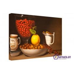Желтый лимон - Модульная картины, Репродукции, Декоративные панно, Декор стен