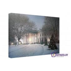 Картина на холсте по фото Модульные картины Печать портретов на холсте Белый дом