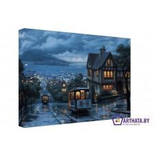 Картина на холсте по фото Модульные картины Печать портретов на холсте Старый город
