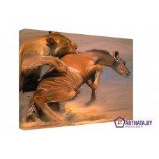 Картина на холсте по фото Модульные картины Печать портретов на холсте Охотник