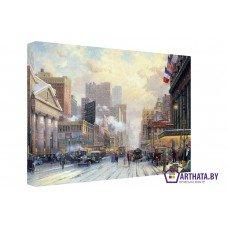 Картина на холсте по фото Модульные картины Печать портретов на холсте Улицы 30ых