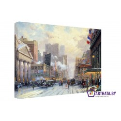 Улицы 30ых - Модульная картины, Репродукции, Декоративные панно, Декор стен