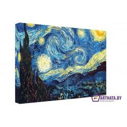 Фото на холсте Печать картин Репродукции и портреты - Звездная ночь