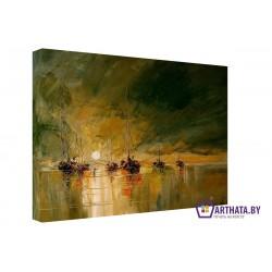 Корабли - Модульная картины, Репродукции, Декоративные панно, Декор стен