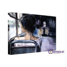 Картина на холсте по фото Модульные картины Печать портретов на холсте Долгая поездка