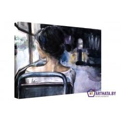 Фото на холсте Печать картин Репродукции и портреты - Долгая поездка