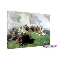 Фото на холсте Печать картин Репродукции и портреты - Воины