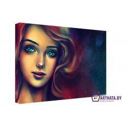 Фото на холсте Печать картин Репродукции и портреты - Русалка